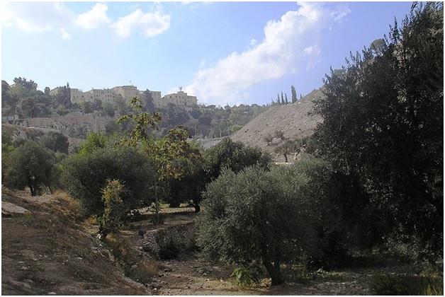 Valley of Hinnom Modern Day Picture