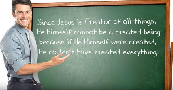 Jesus Creator not created