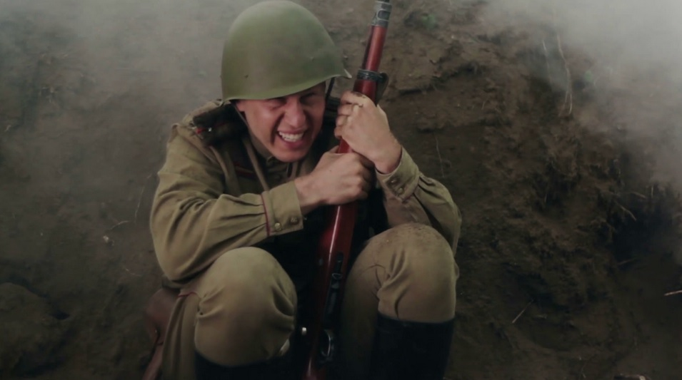 Terrified Soldier