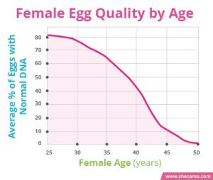 Female Egg Quality by Age